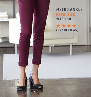 Metro Trouser: Now $30, Was $50