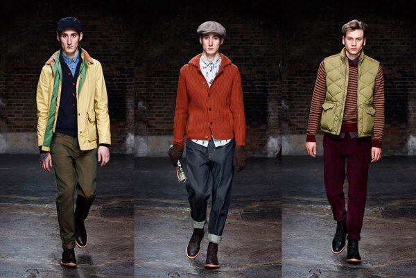 Ben Sherman AW13 Looks
