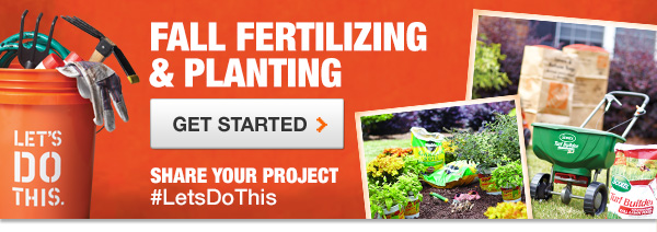 Fall Fertilizing and Planting