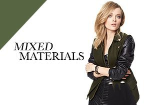 Fall 2013: Mixed Materials - Leather Details, Faux Fur & More