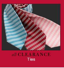Clearance Ties - Reduced 40%
