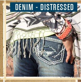 Shop Distressed Denim