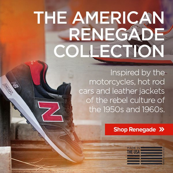 The American Renegade Collection - Inspired by the motorcycles, hot rod cars and leather jackets of the rebel culture of the 1950s and 1960s.