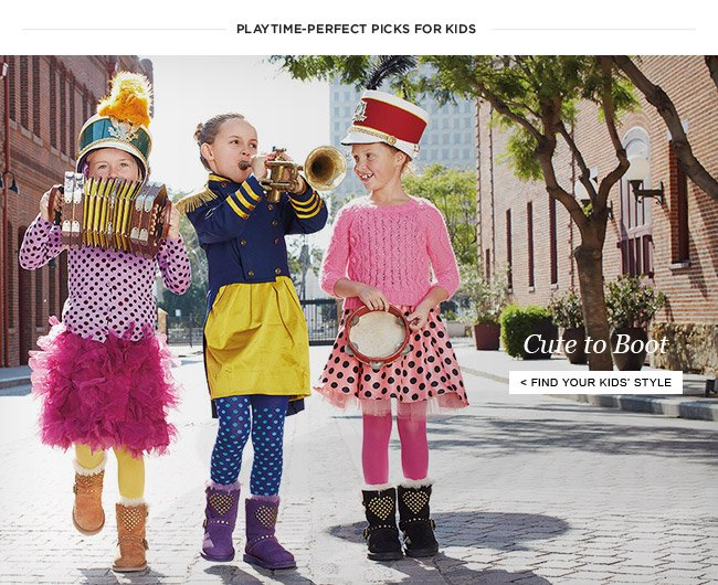 Cute to Boot - Find Your Kids' Style