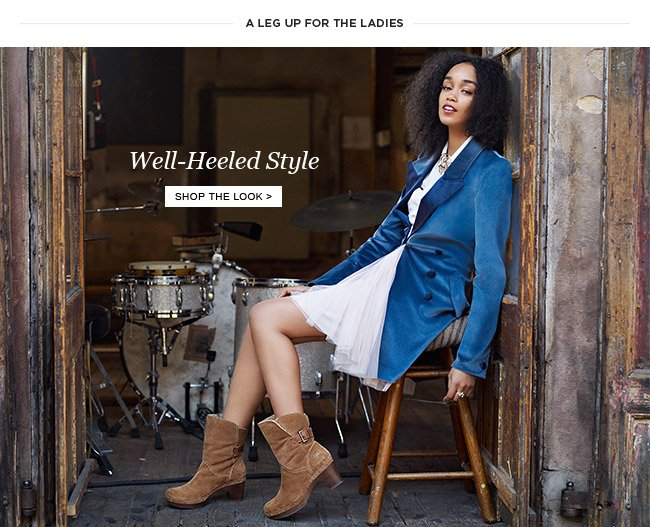 Well-Heeled Style - Shop the Look
