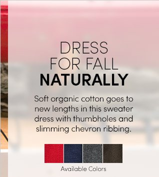 DRESS FOR FALL NATURALLY