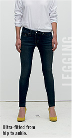 Legging Ultra fitted hip to ankle
