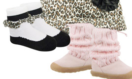 New to BTR- Baby Deer Shoes and Boots