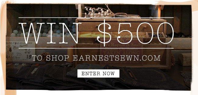 Win $500 - Enter now
