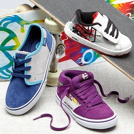 Cutting-Edge Cool: Kids' Skater Shoes