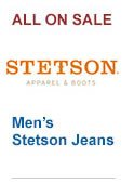 All Mens Stetson Jeans on Sale