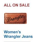 All Womens Wrangler Jeans on Sale