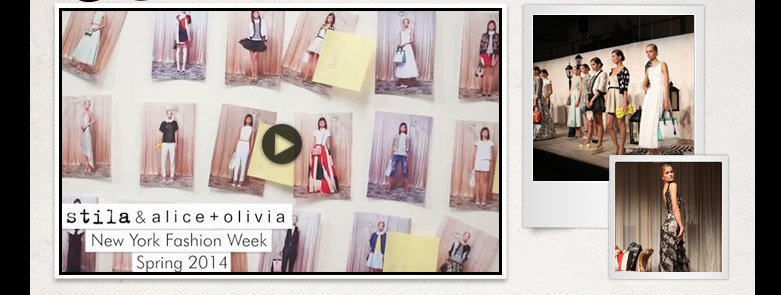 video of alice and olivia fashion show