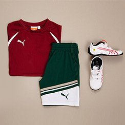 Kid's Athletic Gear & Apparel ft. PUMA & Other