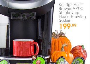 Keurig® Vue™ Brewer V700 Single Cup Home Brewing System 199.99