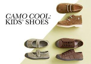 Fall 2013: Camo Cool - Kids' Shoes