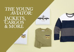Fall 2013: The Young Aviator - Jackets, Cargos & More