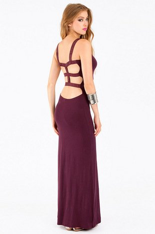 CAGED BACK MAXI DRESS 40