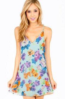 HAILEY FLORAL DRESS 30