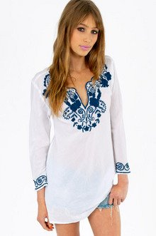 EMMY EMBROIDERED BLOUSE 30