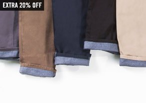 Shop Chinos Under $50 ft. Goodale
