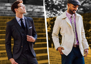 Shop Modern Gentleman: Dressed-Up Looks