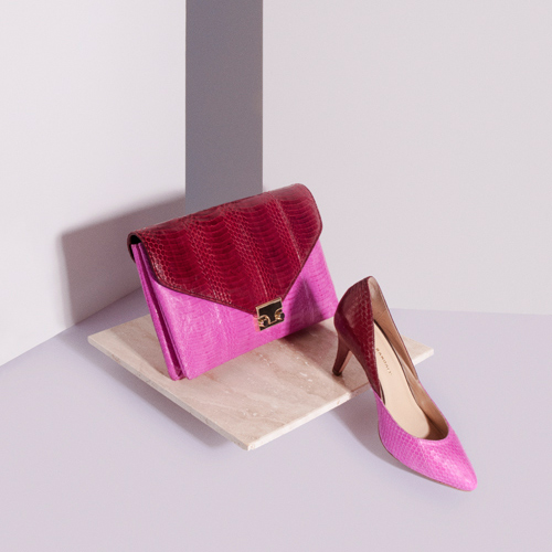 Shop The Fall Color Story: Maroon & Pink Shoes and Handbags at the Official Loeffler Randall Store www.LoefflerRandall.com