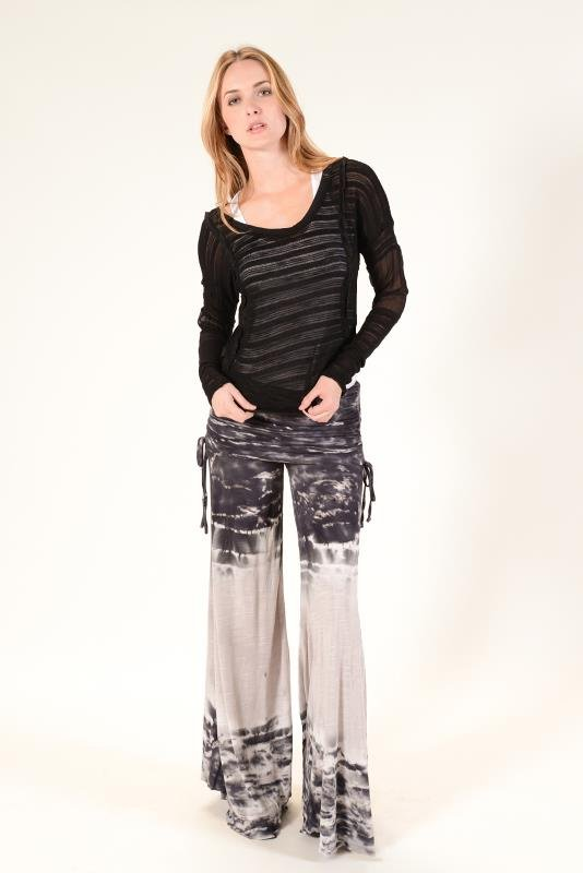 YFB tie dye Sierra Pants_black watercolor wash