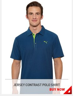 JERSEY CONTRAST POLO SHIRT BUY NOW »
