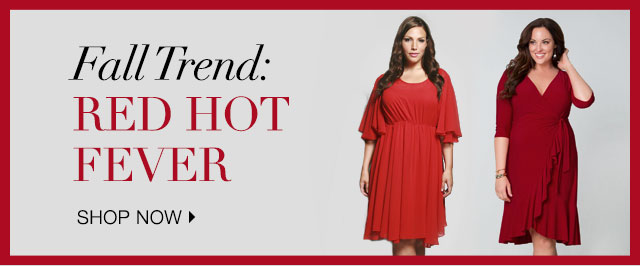 Shop Fall Trend: Red Hot Fever