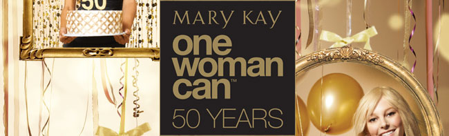 Mary Kay One Woman Can 50 Years
