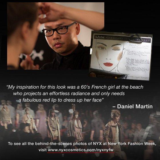 Daniel Martin at NYFW