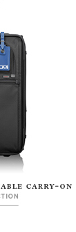 Shop International Zippered Expandable Carry-on