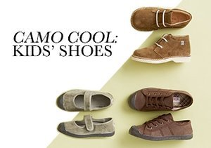 Fall 2013: Camo Cool - Kids' Shoes