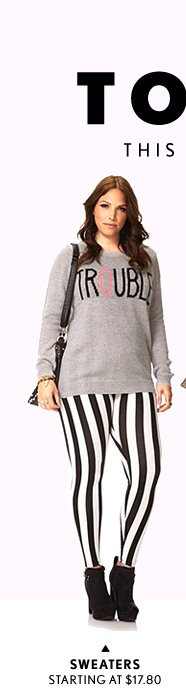 Forever 21 Plus: This Season's Must Have Toppers! - Shop Now