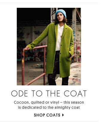 Ode to the coat - Shop coats