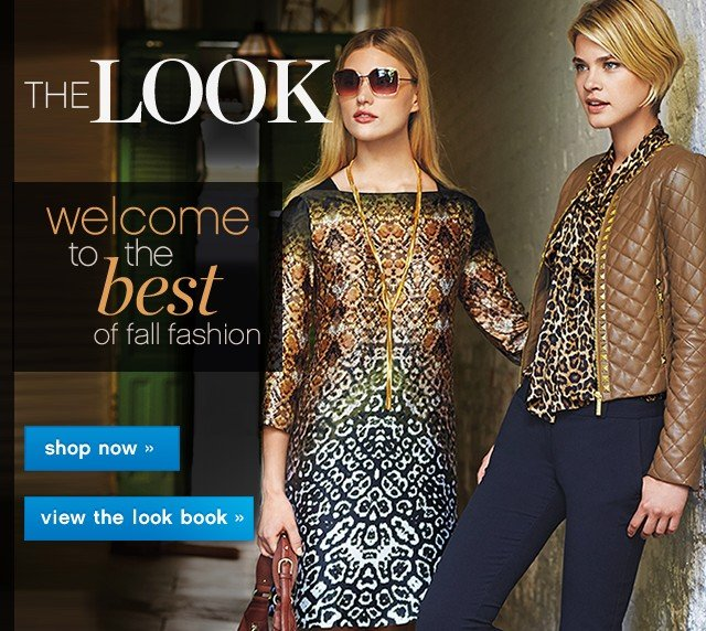 The Look. Welcome to the best of fall fashion. Shop now.