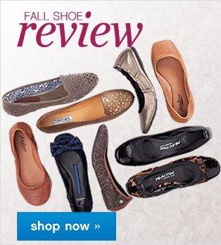Fall Shoe Review. Shop now.