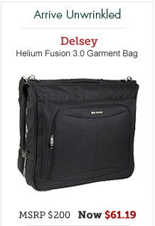 Delsey Helium Fusion 3.0 Garment Bag