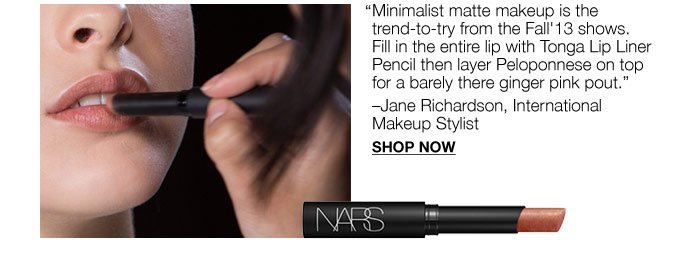 Minimalist matte makeup is the trend-to-try from the Fall'13 shows.