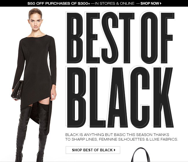 SHOP BEST OF BLACK