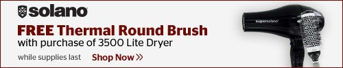 Free Thermal Round Brush with Dryer