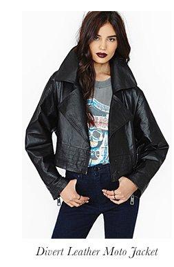 Divert Leather Moto Jacket