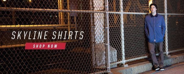 etnies Skyline collection shirts