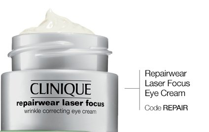 Repairwear Laser Focus Eye Cream. Code REPAIR.