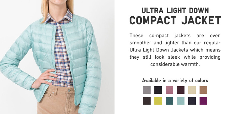 ULTRA LIGHT DOWN COMPACT JACKET