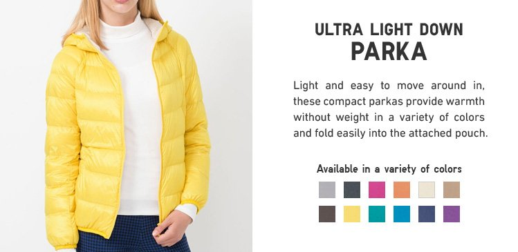 ULTRA LIGHT DOWN PARKA
