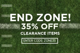 End Zone: 35% Off