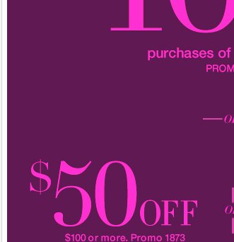Save $100 with your NEW coupon, in-store & online, ONE DAY ONLY! Shop Now!
