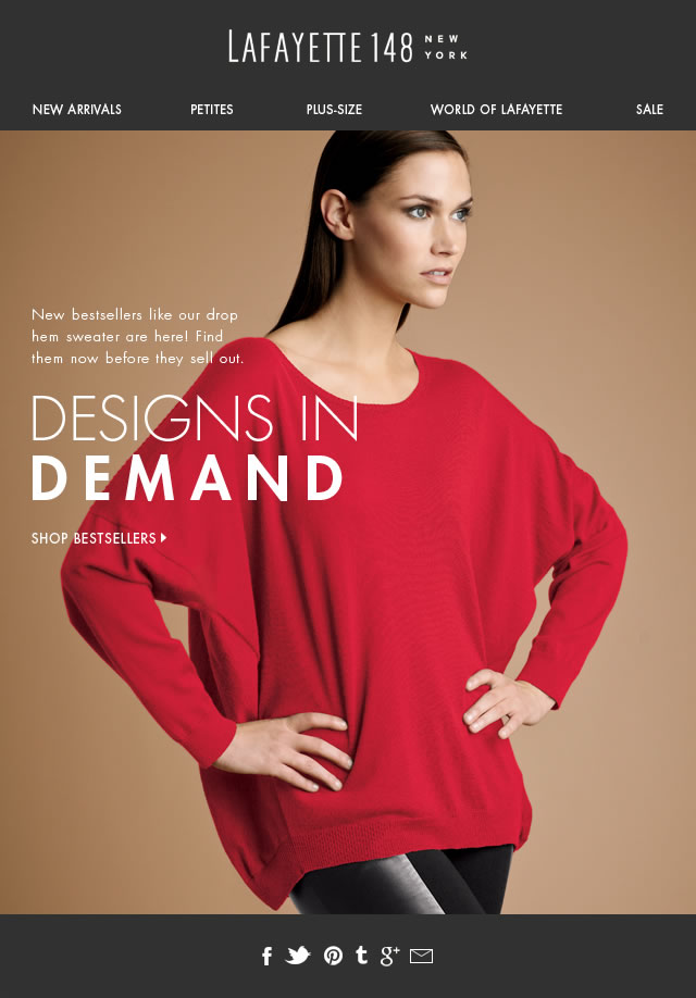 Designs in Demand! You Asked. We Answered.